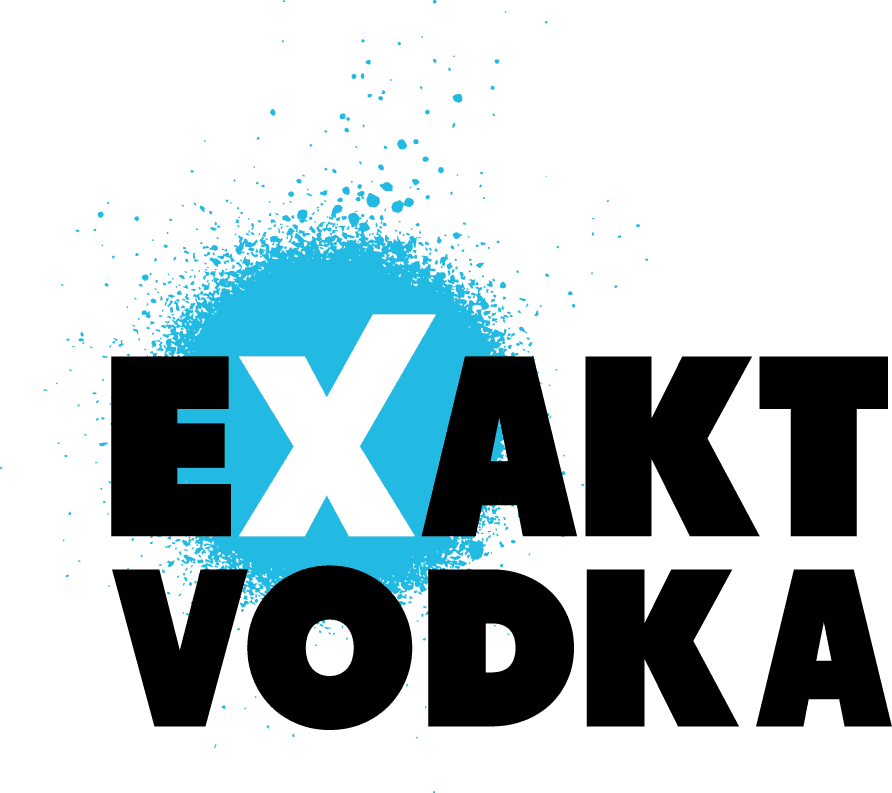 EXAKT Vodka Sticky Logo Retina